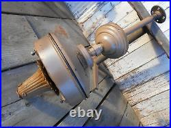 Antique CENTURY ELECTRIC CO! 00+ Year Old Ceiling Fan Cast Iron Heavy Duty Nice