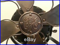 Antique Canadian General Electric Pancake Fan Restored
