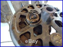 Antique Cast Emerson Ceiling Fan With Blades 45641 Volt 110 Parts or Restore