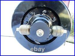 Antique Cast Iron Diehl Original Electric Ceiling Fan HA551 with Fan Blades RARE