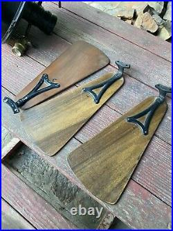 Antique Cast Iron Emerson Electric Ceiling Fan 35661 With 6 Blades Hotel