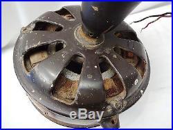 Antique Ceiling Fan Siemens Schuckert Made In Germany Kw 230 Vintage Ceiling Fan