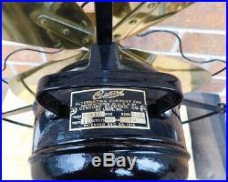 Antique Century Fan. 5 Speeds, Oscillates. Beautifully Reworked Fan! 1920