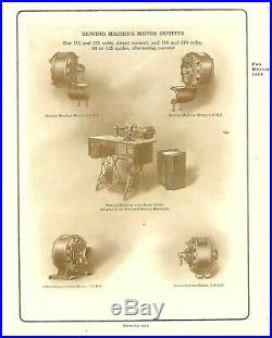 Antique Circa 1908 GE Pancake Utility Motor Fan Brass