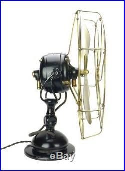Antique Circa 1909 16 Jandus Wire Mount Desk Fan