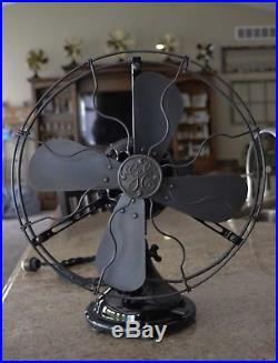 Antique Custom Restored 12 General Electric 32 Volt DC Fan