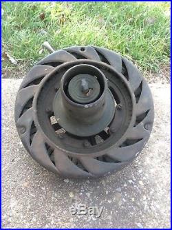 Antique Dayton Fan and Motor Co Ceiling Fan 1920 Cast Iron Motor Runs