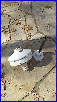 Antique Early Electric Motor From Century General Store Ceiling Fan with Mount
