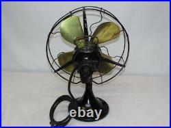 Antique Electric Century Fan 13 Cage Model 103 4 Brass Blades