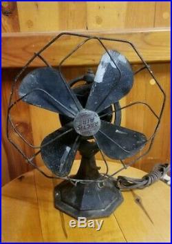 Antique Electric Fan Artic Aire 1920's Old Vintage