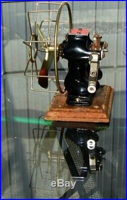 Antique Electric Fan Brass Fan Kit for Knapp Little Hustler. 148 shaft Exquisite
