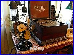 Antique Electric Fan Century 9 inch Vintage Old 1920's