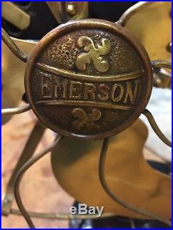 Antique Electric Fan Emerson 16646