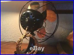 Antique Electric Fan Emerson Restored