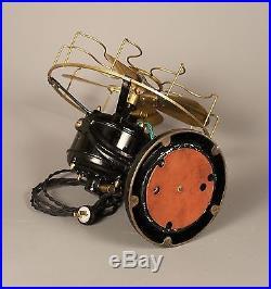 Antique Electric Fan, Westinghouse Tank 60677, Brass Blade Electric Fan