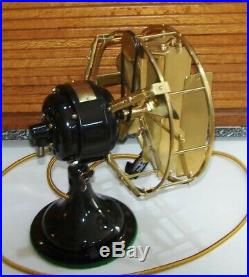 Antique Electric Fan with Coleman Deflector Extremely Rare and Delightful Item