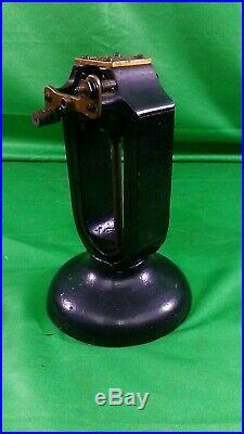 Antique Electric Manhattan Battery Power Fan Early 1900 Motor