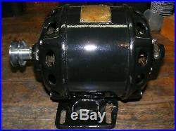 Antique Electric Motor 1914 CENTURY 1/6 HP. RS. 110 /220 Volt RARE
