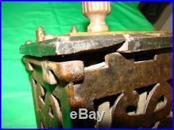 Antique Electric Motor Fan Rheostat Control 1890 Edison Era Direct Current Early