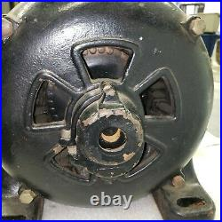 Antique Electric Motor, GE, Type 18, Induction Motor, #70756, 1/2 HP, 110V