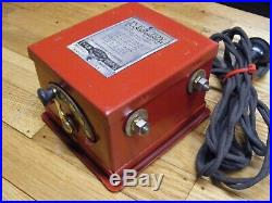 Antique Electric Motor Rare IVES TOY TRANSFORMER No 204 Withspeed control