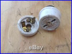 Antique Electrical Screw Plugs