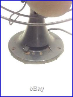Antique Emerson 6 Brass Blade Fan 27666 Parker Blades 12