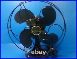 Antique Emerson B-JR 1931 Electric 10 Oscillating One Speed Fan (Working)