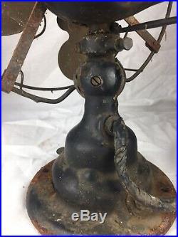 Antique Emerson Brass Blade Electric Fan 24645 9
