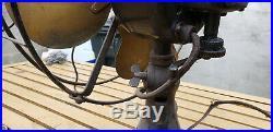 Antique Emerson Brass Blade Fan 29646 Electric Vtg HTF USA 1920s 12 Oscillating