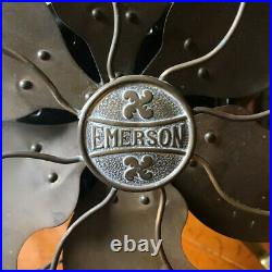 Antique Emerson Brass Blade Fan Type 17666