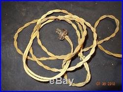 Antique Emerson Brass Blade/cage Desk Fan Electric 8 Inch Parker 1899 Type 1500