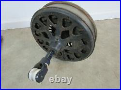 Antique Emerson Ceiling Fan with Blades Parts or Restore vintage