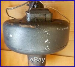 Antique Emerson Electric Ceiling Fan Heavy Cast Iron 115v