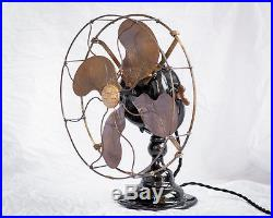 Antique Emerson Electric Desk/ Table Fan Beautifully Conserved