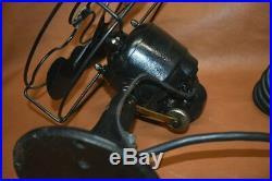 Antique Emerson Electric Oscillating 8 Desk Top Fan 4 Blade 1 Speed 2240-B