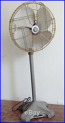 Antique Emerson Electric Pedestal Fan 77648-TG 1959