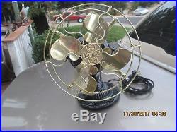 Antique Emerson Fan 1500 Brass Blade Fan Antique Fan Vintage Emerson Fan Old Fan