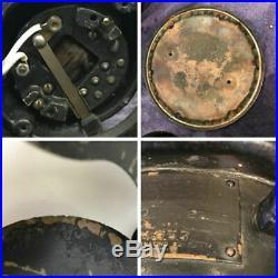 Antique Emerson Fan 27666 For Restoration 3 Speed Oscillating 6 Brass Blade 12