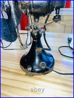 Antique Emerson Fan Cone Base Rare Vintage