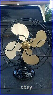 Antique Emerson Jr. 10 Oscillating Fan