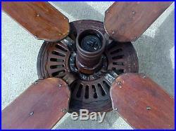 Antique Emerson Pancake Motor Ceiling Fan Old Vintage Electric 46641