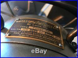 Antique Emerson Pedestal Fan 77646AW