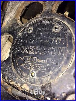 Antique Emerson ceiling fan model 36641 Trojan