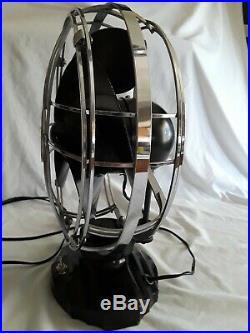 Antique Emerson deco 10 Silver Swan Electric Fan