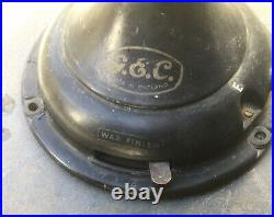 Antique English electric desk fan/ G. E. C. / 3 speed/ 12 inch sweep