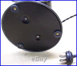 Antique Eskimo 10 brass blade oscillating 2 speed electric fan restored 35A