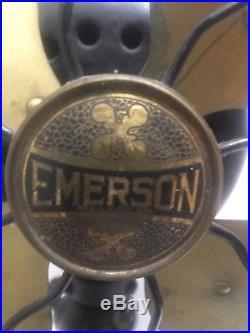 Antique Fan Old Vintage Fan, Emerson Fan