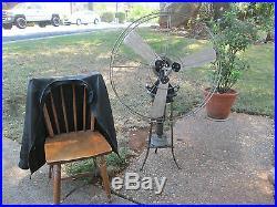 Antique Fan Vintage Fan Brass Blade Stirling Engine Fan Lakebreeze Hot Air Fan