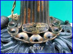 Antique Fancy Cast Iron Century Electric Co Model 172 Ceiling Fan c1900
